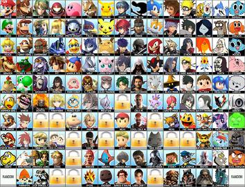 All Star Roster 2(DLC).1 Roster