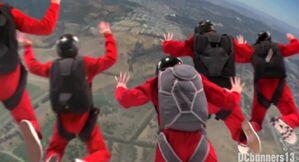 The IDDI gang jumping