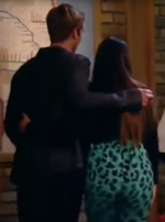 Logan and Jasmine Walking Off