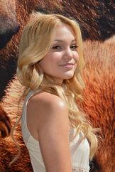 Olivia+Holt+Disneynature+Bears+Special+Screening+side shot