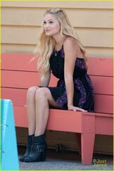 Olivia holt out in la 1
