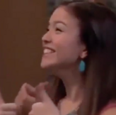 Jasmine Giving Thumbs Up