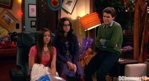 Jasmine, Garrett, and Delia