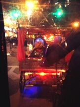 Olivia on a Carriage