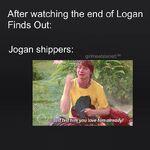 How Jogan shippers Feel