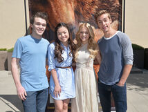 Disney bears Olivia holt 2014 with piper peyton and austin