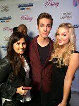 Austin and Olivia at Radio Disney