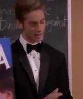 Logan In Tuxedo