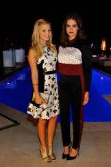 Olivia and Maia
