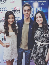 Piper, Austin and Sarah at Premier