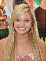 Olivia with Hoop Earrings
