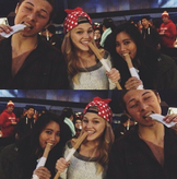 Olivia Holt with Some Friends