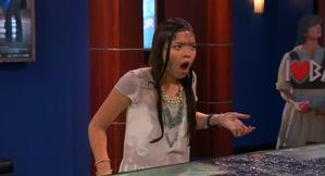 Jasmine is Shocked