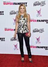 Olivia wall flower jeans pic 5