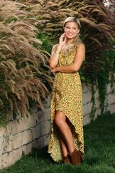 Olivia Yellow Sparkly Dress