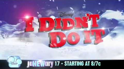 Disney Channel Janewary Premieres Cloud 9 and I Didn't Do Promo 2