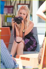 Olivia holt out in la 3