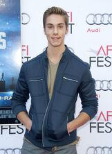 Austin Wearing a Black Jacket