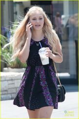Olivia holt out in la 4