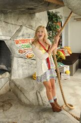 Olivia Holt with a Rope