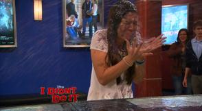 Jasmine Gets Soaked