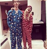 Pjs with Austin and Olivia
