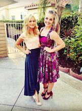 Gracie and Olivia