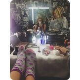 Olivia Holt Wearing Socks