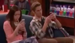 Logan and Jasmine Texting