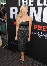 Olivia with a Dark Dress
