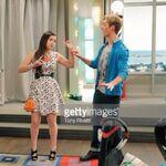 Jogan! Logan holds Jasmine's wrist