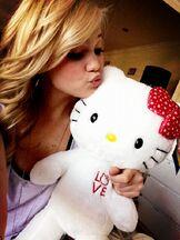 Olivia and Hello Kitty