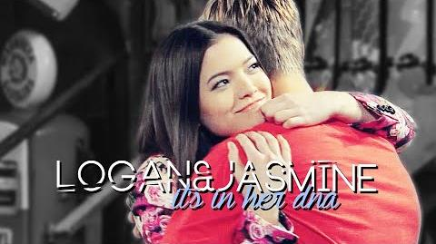 She takes my breath away logan&jasmine