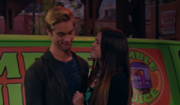 Jasmine and Logan are Blushing