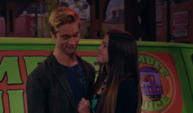 Jasmine and Logan are Blushing