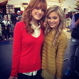 Olivia with Bella Thorne
