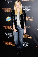 Olivia Holt Black Jacket