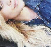 Olivia Holt Blue Jacket