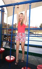 Olivia holt out and about in los angeles june 2012