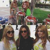Olivia with Katherine and Ashley Tisdale