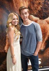 Disney bears Olivia holt 2014 with Austin North
