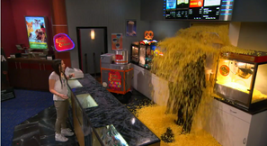 Lindy and Garrett in Popcorn