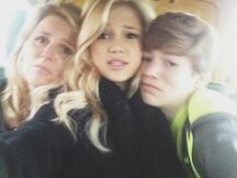 Olivia with Her Family