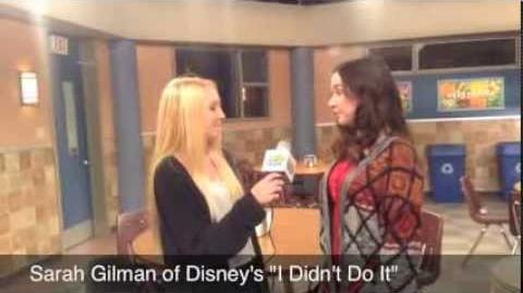 Awesome Teen Interview! Sarah Gilman on the set of I Didn't Do It! on Disney Channel