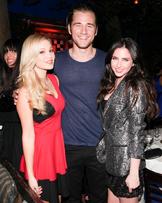Liv, Luke and Ryan on the Nylon Magazine Party
