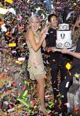 Olivia with Her Sweet 16 Cake