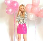 Olivia afterglowmag pink backgrond