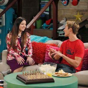 Jasmine and Logan basement