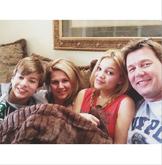 Olivia with Family