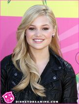 Olivia at the Kids' Choice Awards
